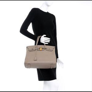 Handbags - Genuine Leather Birkin Style Handbag
